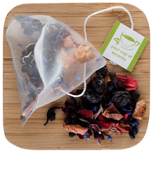 Blueberry Fruit Infusion Pyramid Sachets