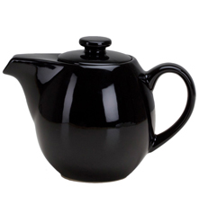24 oz Teapot with Infuser - Black