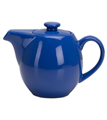 24 oz Teapot with Infuser - Blue