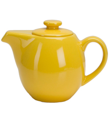 24 oz Teapot with Infuser - Yellow