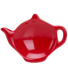 Tea Bag Holder - Red
