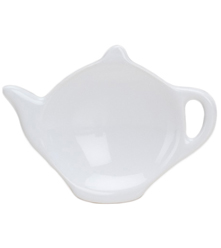 Tea Bag Holder - White