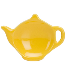 Tea Bag Holder - Yellow