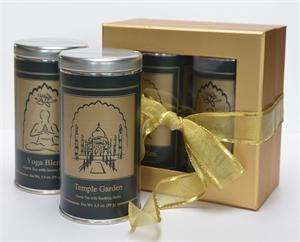 Blended Spirits Tea for Two - Yoga and Temple Garden