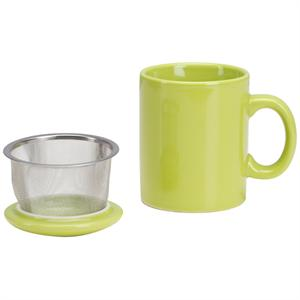 Infuser Mug with Lid - 11 oz Citron