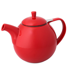 Red Curve Teapot