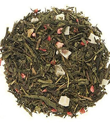 Wild Strawberry Green Tea