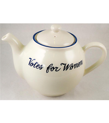 Votes for Women Teapot